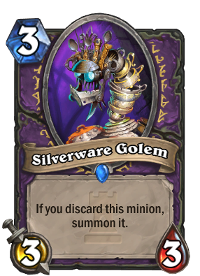 Silverware Golem - Discard for days