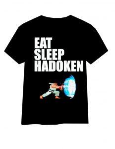Eat Sleep Hadouken T Shirt
