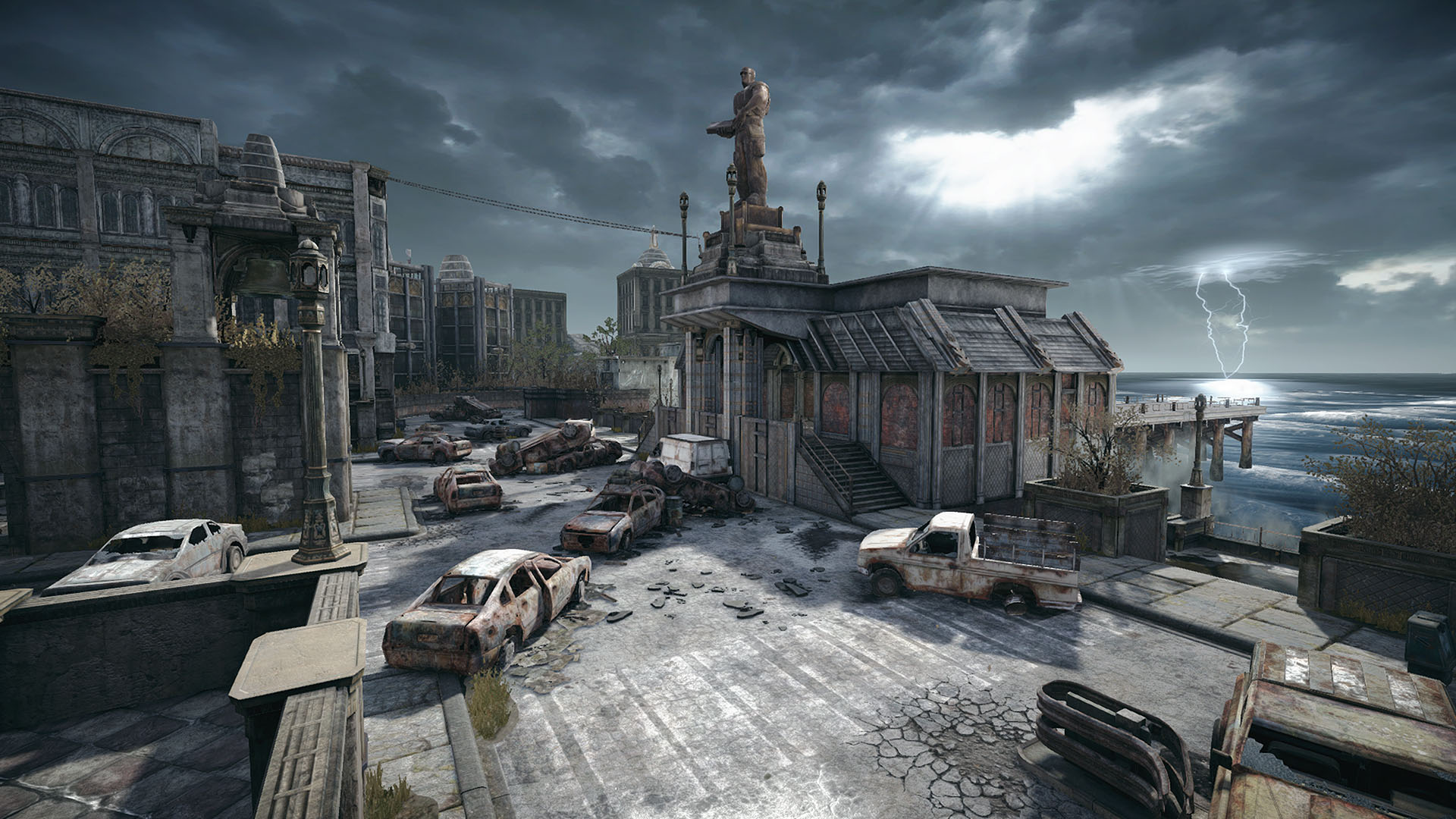 Gears of War 4 Online Map