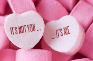 It's not you it's me breakup candy