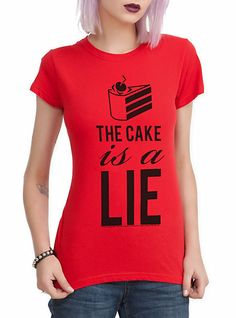 The Cake is a Lie T Shirt