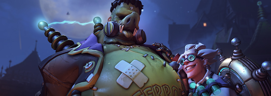 New Overwatch Halloween Skins, Junkenstein.