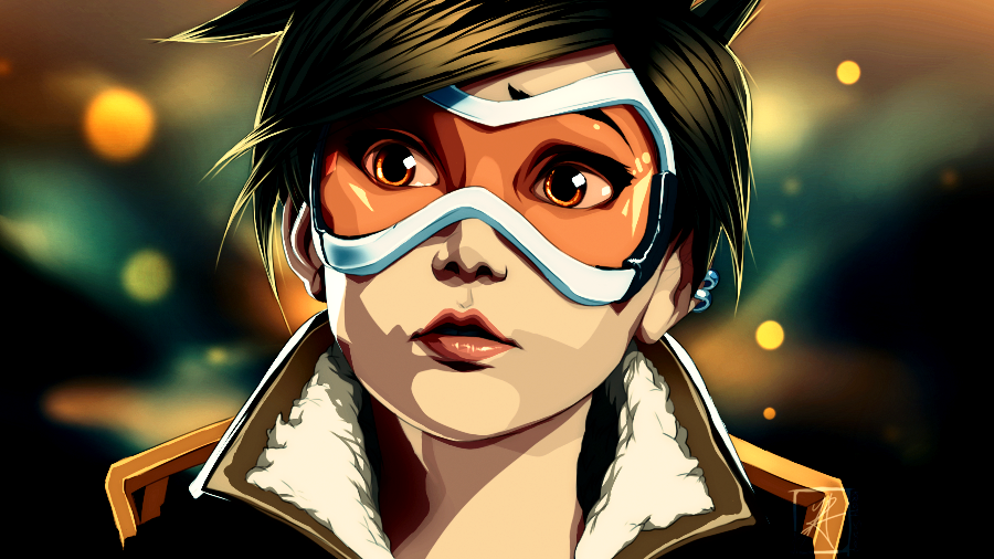 Tracer Aim Overwatch Deviant Art