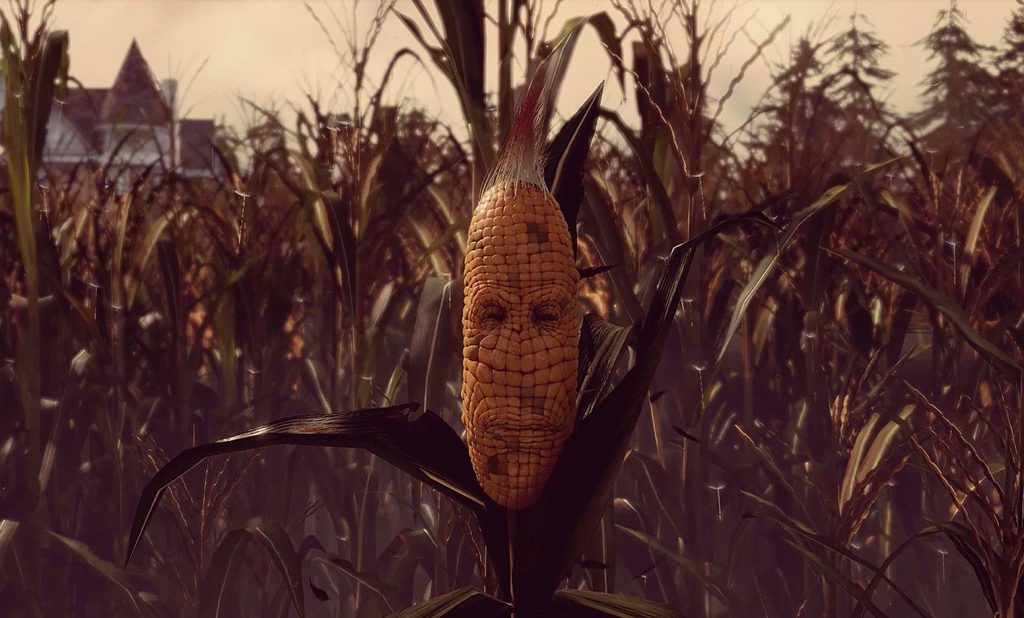 Maize Corn Character