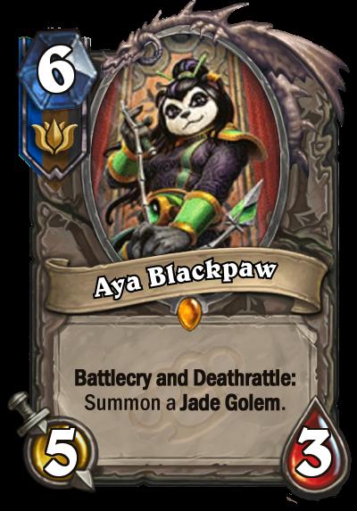 Aya Blackpaw - Jade Golem