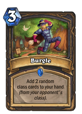 Rogue Problem: Burgle