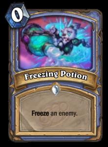 Freezing Potion Useless Mean Streets of Gadgetzan