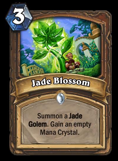Jade Blossom - Jade Golem