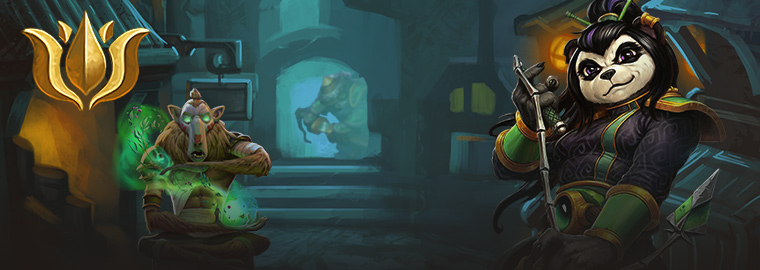 The Jade Lotus are one of Hearthstone's factions.