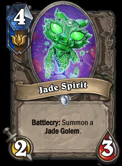 Jade Spirit - Jade Golem