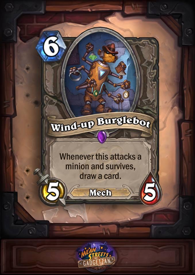 Wind Up Burglebot Fourth Worst New Card.