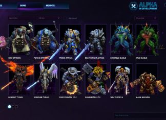 Heroes of the Storm Skins