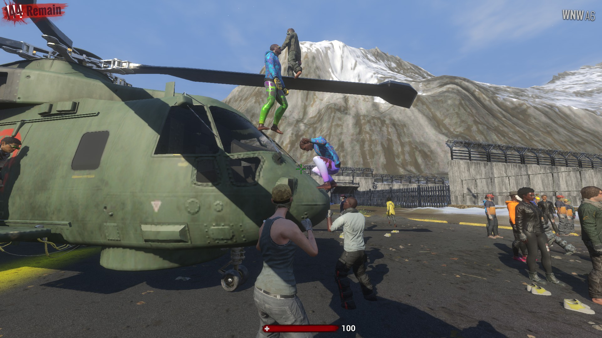 Every game of H1Z1: King of the Kill starts off in Fort Destiny.