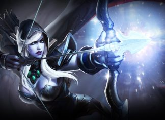 Drow Ranger was a popular pick during the group stages at the Boston Major.