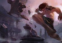 Lee Sin Splash Art by Riot Games