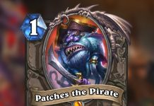 Patches the Pirate rears his swashbuckling head.