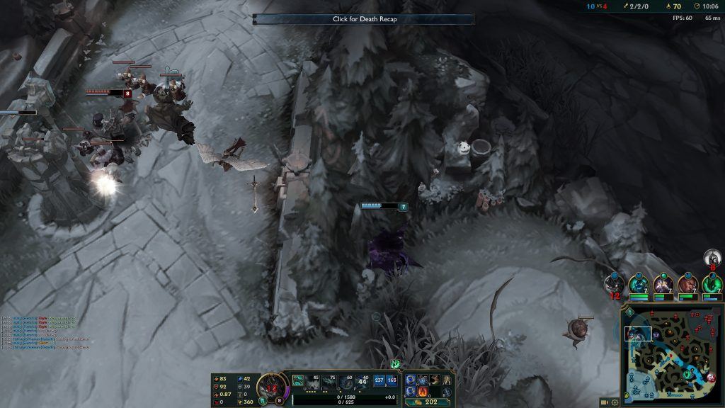 gray screen boosted animal death recap pink ward control ward item slot