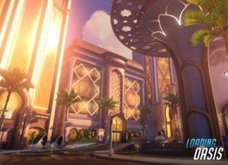 Screenshot of Oasis map by Blizzard