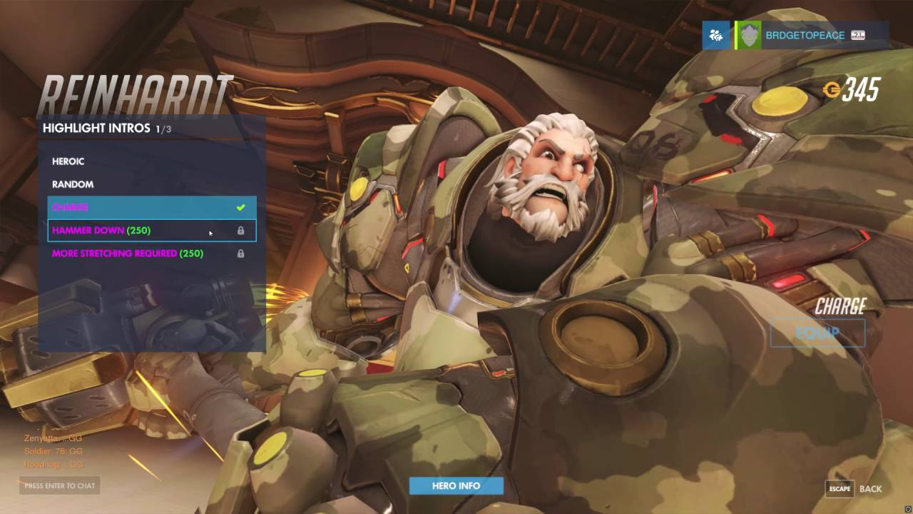 Reinhardt without his helmet on. He's got quite an impressive beard.