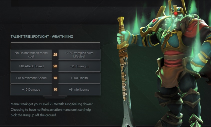 How to navigate 7.00 Wraith King Talent Tree
