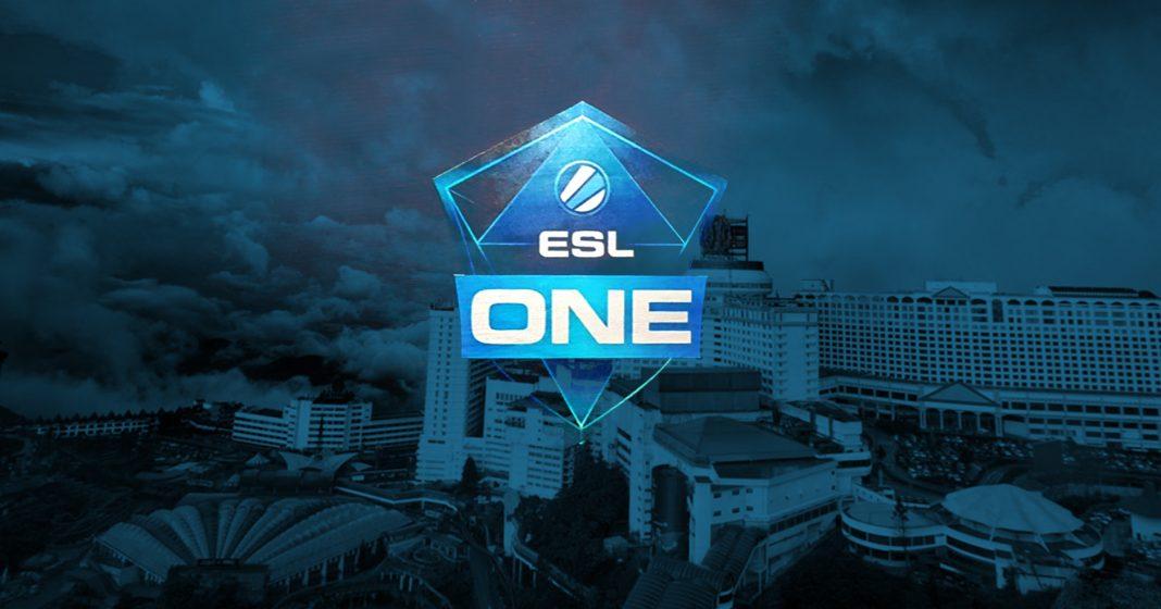 DOTA2 ESL One Genting Logo