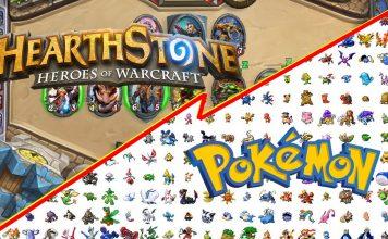 Hearthstone vs Pokemon Banner