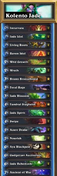 Jade Druid Decklist