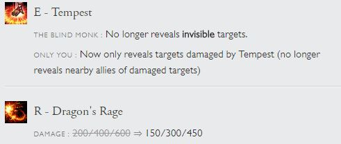 Patch 7.1 Lee Sin
