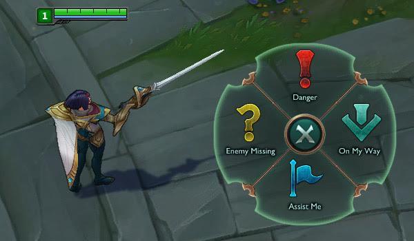 Smart Ping Wheel: Danger, Enemy Missing, On My Way, Assist Me