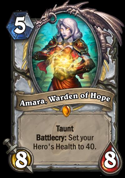 Journey to Un'Goro - Amara, Warden of Hope