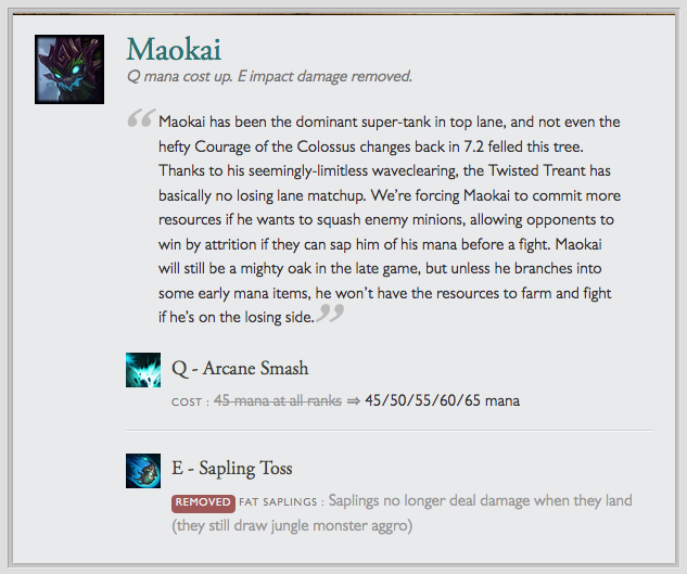 Maokai - Super-Tank in Top Lane