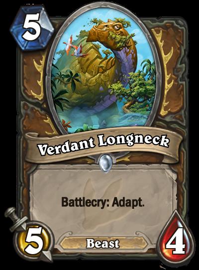 Journey to Un'Goro Verdant Longneck