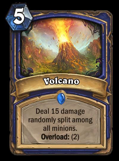 Journey to Un'Goro Volcano - New Shaman Card