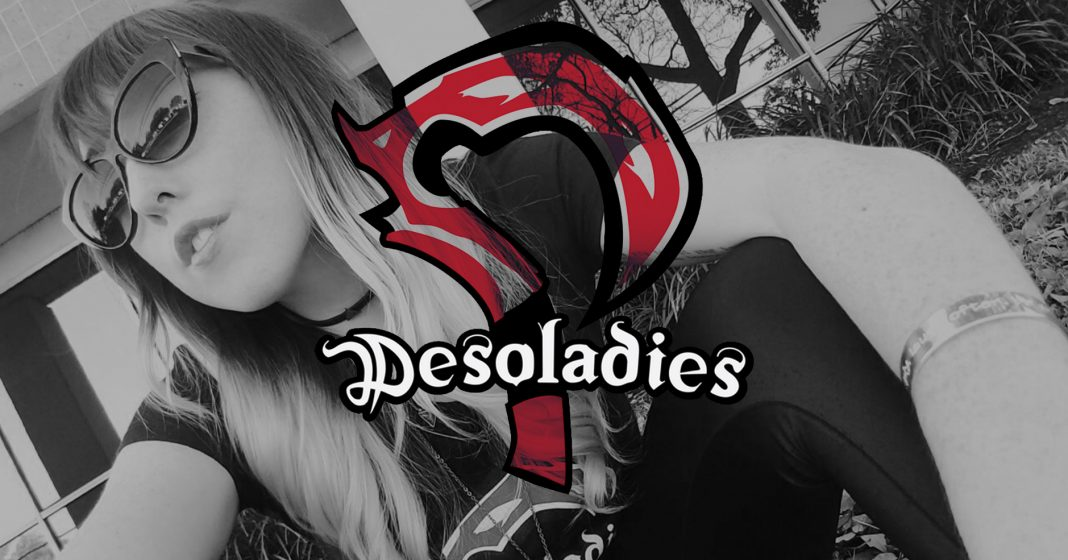 "Ashley ""Ashnichrist"" Christenson is the founder of Desoladies, a group designed to unite and advocate for women in the Dota scene."