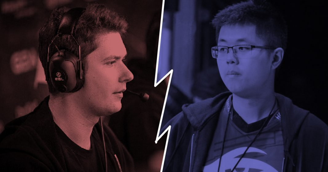 The public feud between Puppey and EternalEnvy has started back up again.