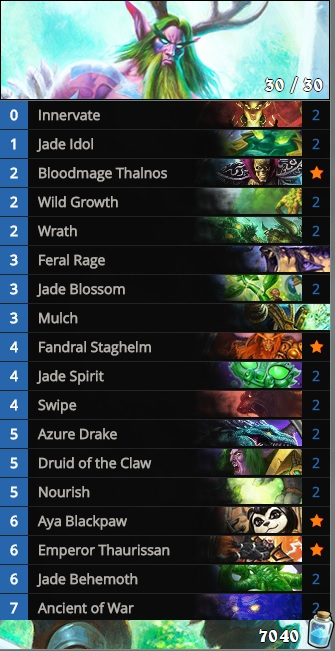 Heroic Tavern Brawl Jade Druid