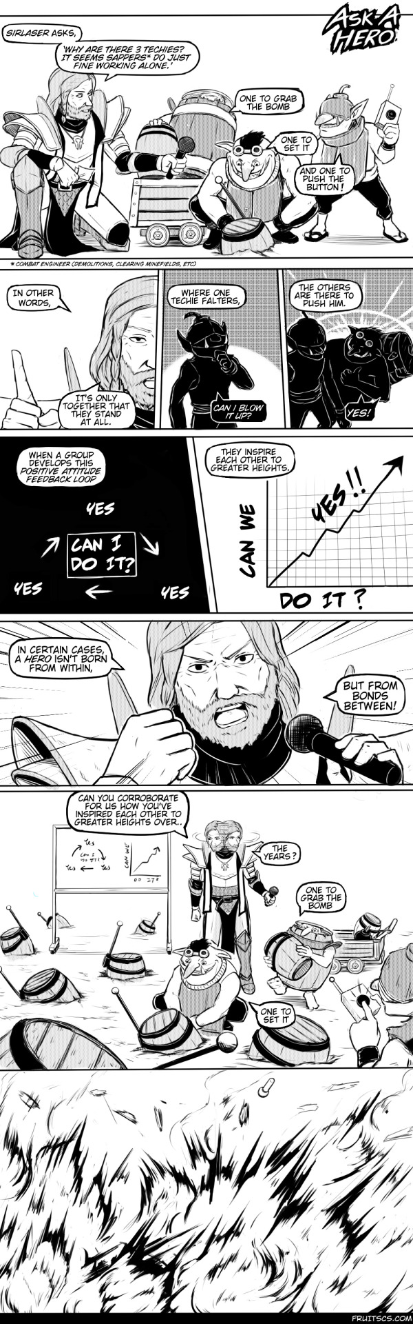 Dota Comic