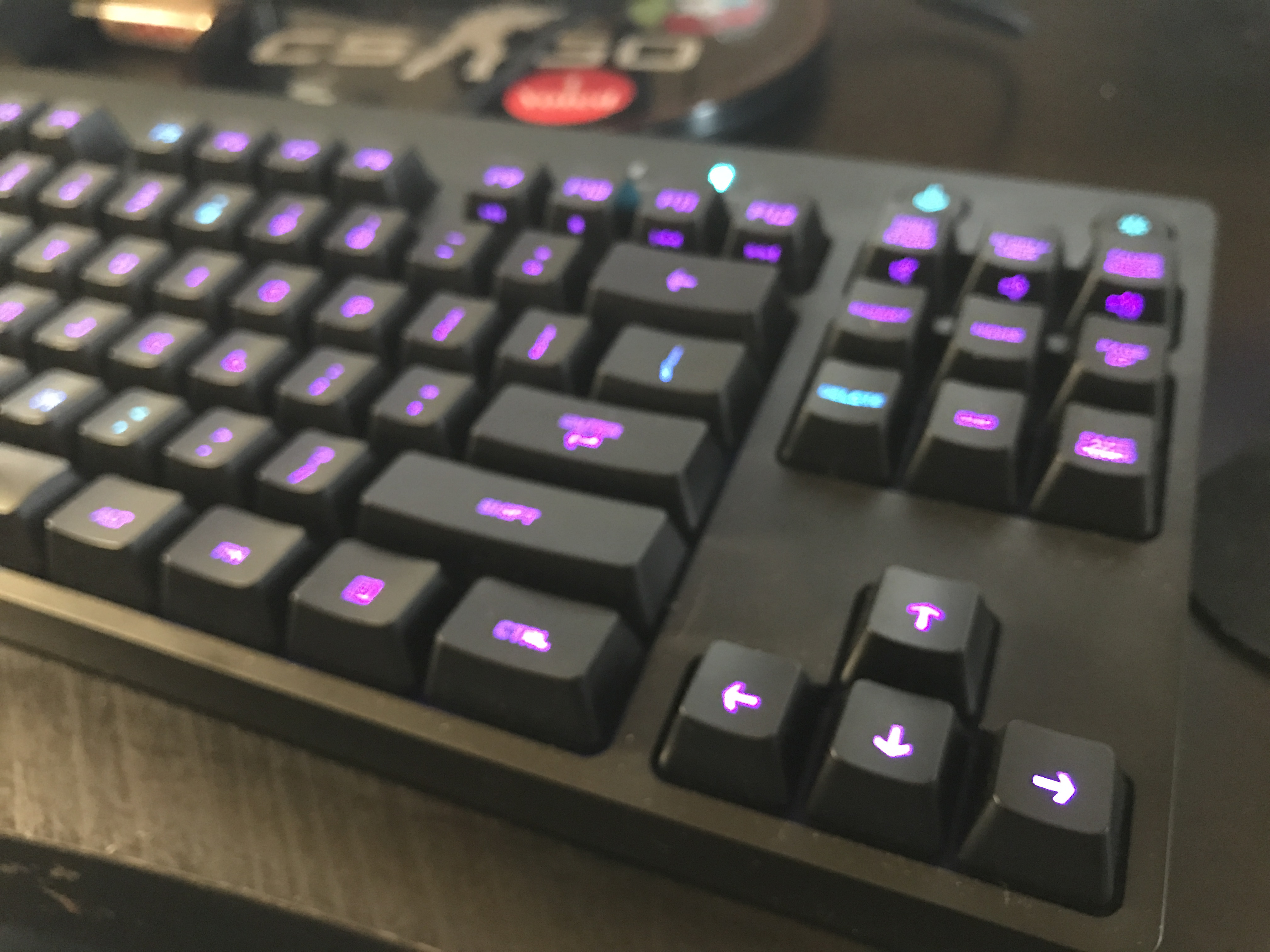 The Logitech G Pro Keyboard has gotten rid of the numpad, opting for a tenkeyless design instead.