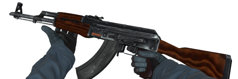 Counter-Strike's iconic AK-47 can take out an opponent with a single headshot, unlike the M4A4 and M4A1-S, each of which require two headshots to be lethal.