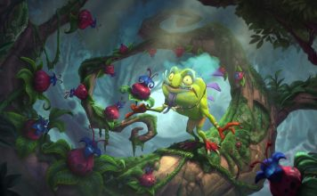 Journey to Un'Goro will be released on April 6th, and Blizzard has finally finished revealing all of the new cards from the expansion, including a pair of neutral legendaries: The Voraxx and Spiritsinger Umbra.