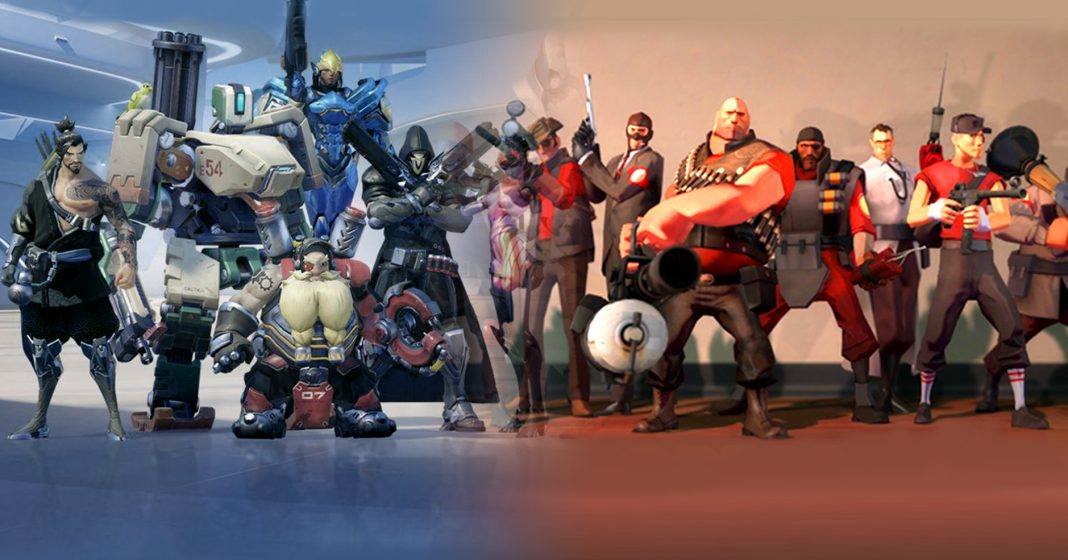 TF2 has a lot in common with Overwatch. Blizzard's game is clearly the heir to TF2's throne, but both games have an important place in the video game history books.