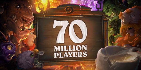 70 million Hearthstone players