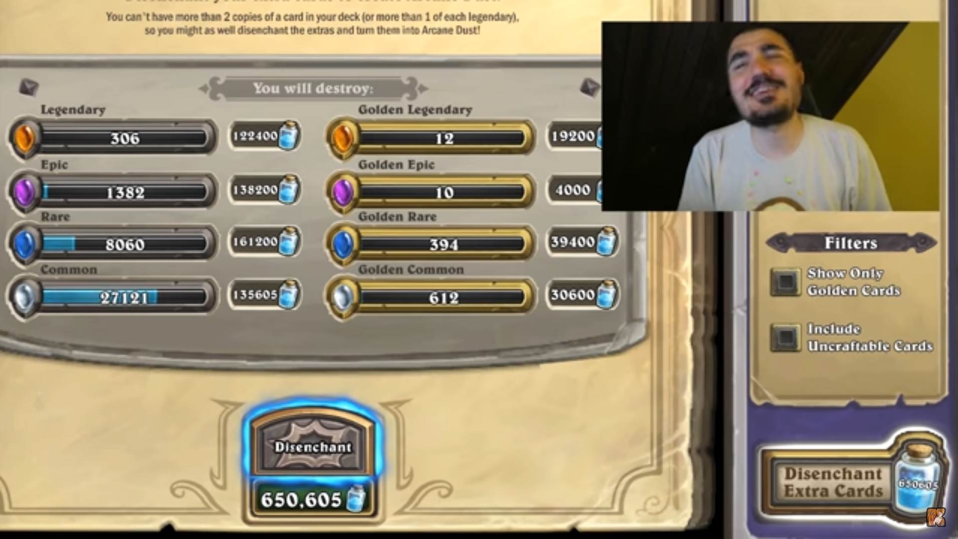 Kripp and the button