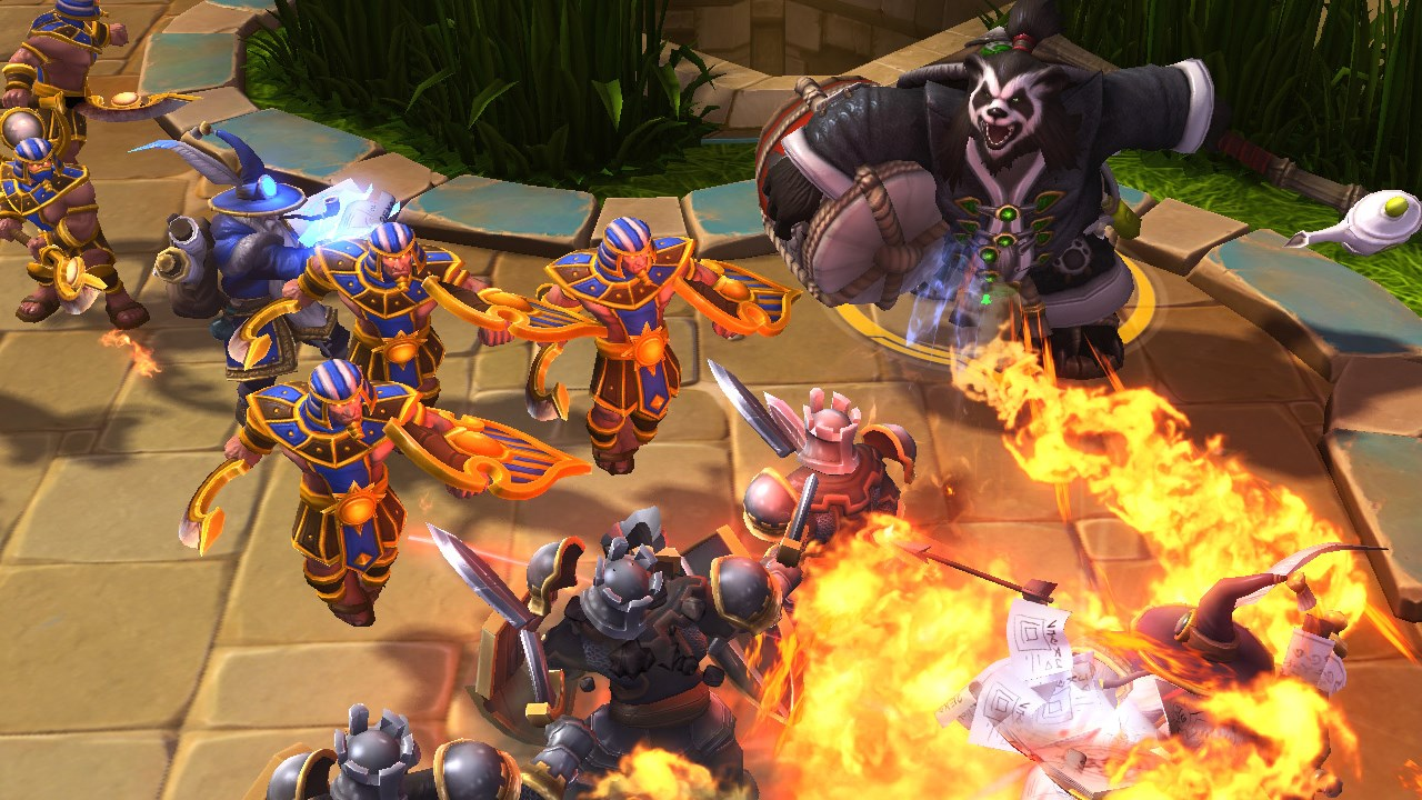 Heroes of the Storm, arguably the most casual MOBA, isn't any better than other esports titles when it comes to elitism and toxicity. (Image via Kotaku Australia.)