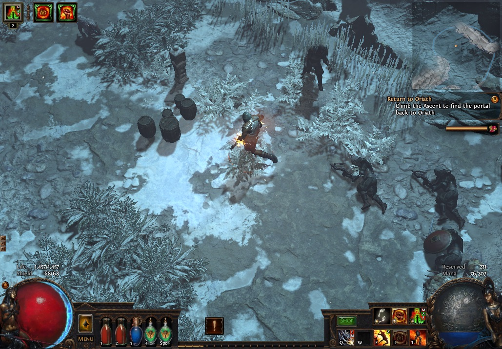 The end of Act Four in Path of Exile sets you up for your journey towards Act Five.