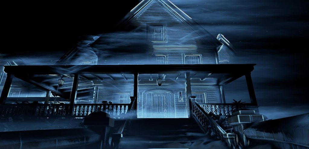 A historical old home holds secrets to your past in horror title Perception.