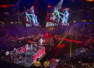 KeyArena is one of the most storied esports venues, hosting Dota 2's The International for the past four years.