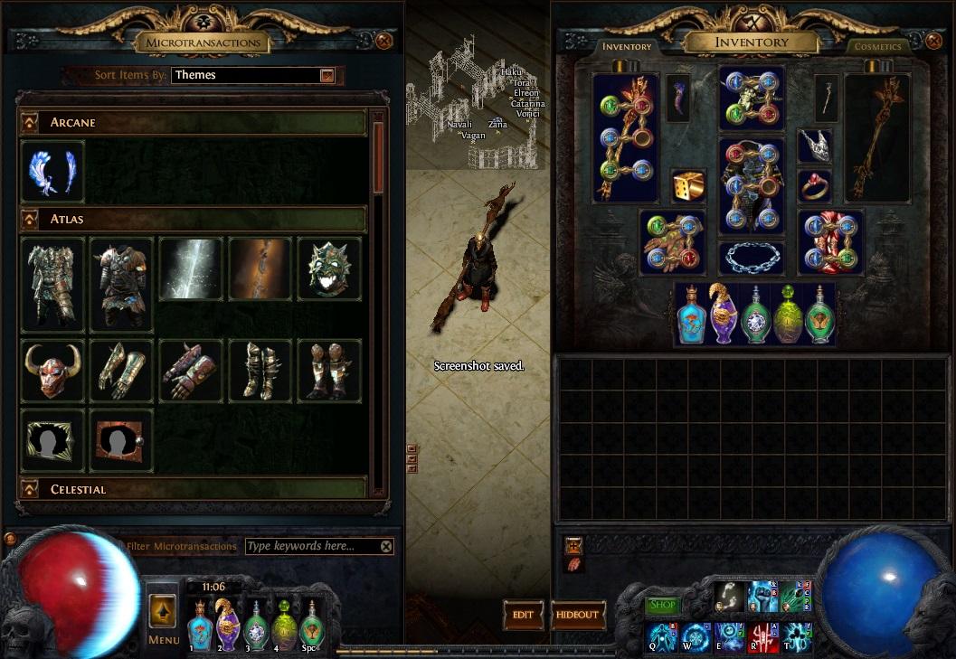Screenshot of new MTX system.