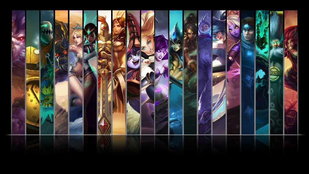 League of Legends master champions