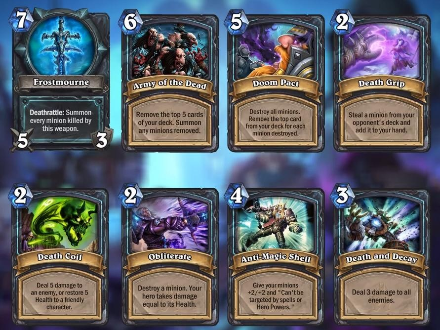 Death Knight Cards